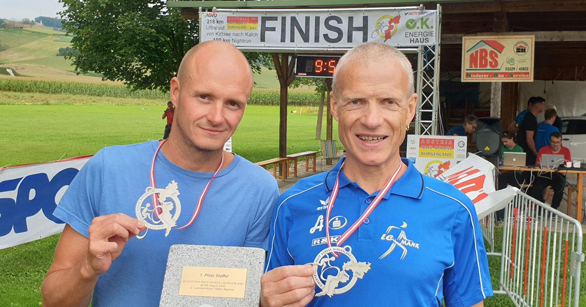 Markus Steinacher und Emil Jaidhauser